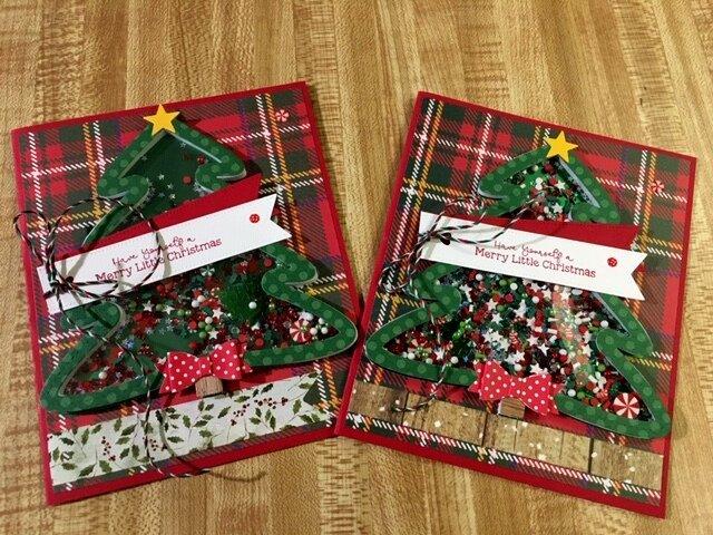 2020 Christmas Shaker Card