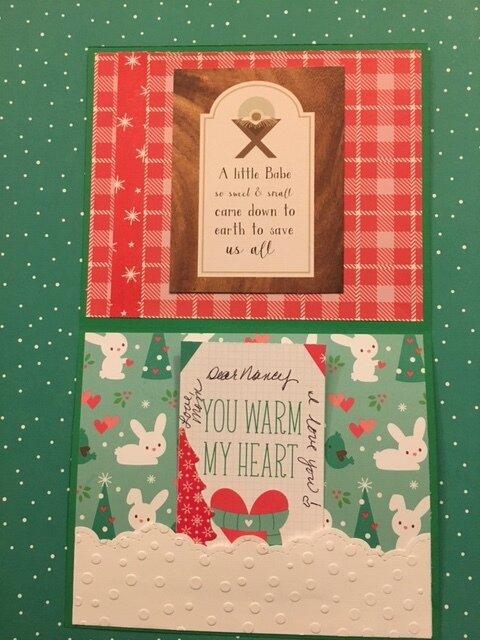 Christmas Thank you card 2019
