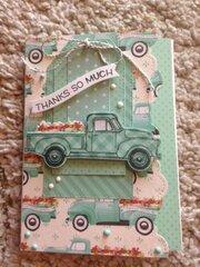 Spring Truck Card 2019