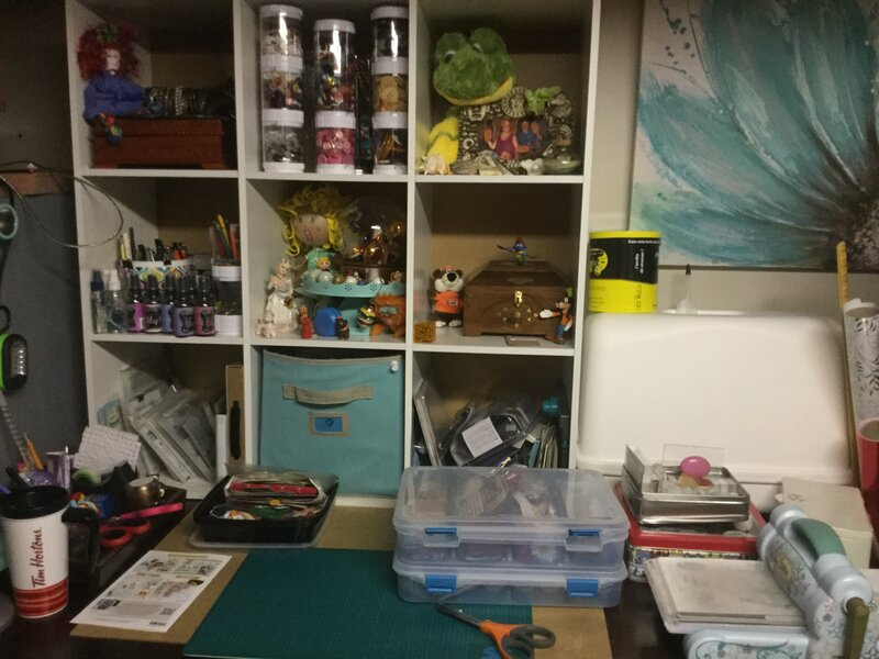 My basement craft room