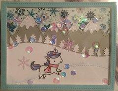 Winter Unicorn -- For Marley