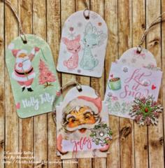 Santa Baby gift tags