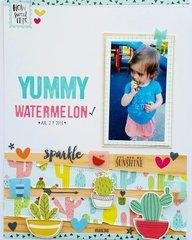 Yummy watermelon!