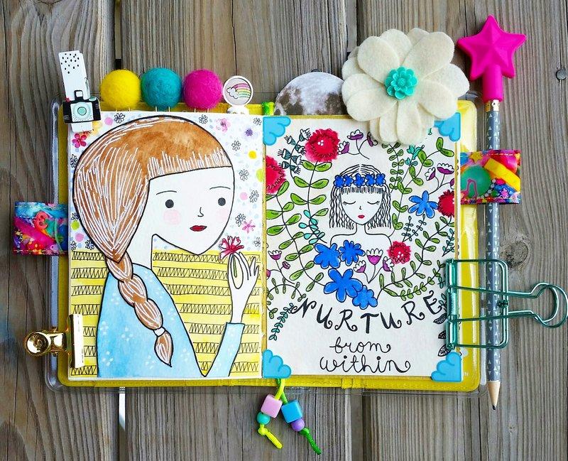 Girl Doodles