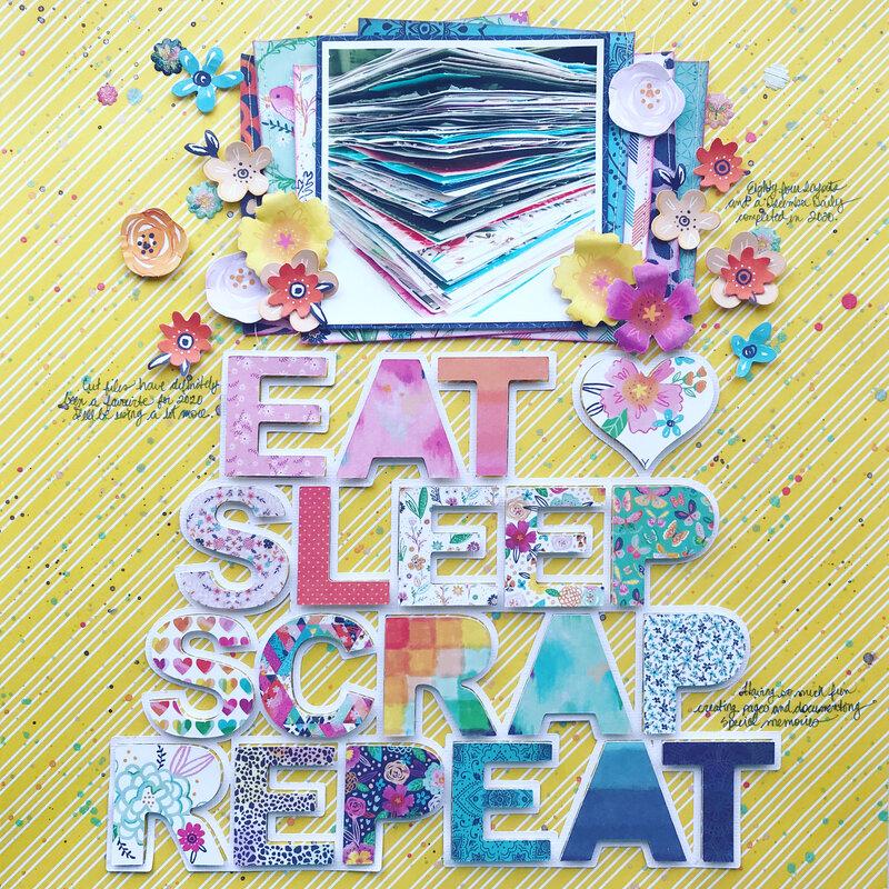 Eat, Sleep, Scrap, Repeat