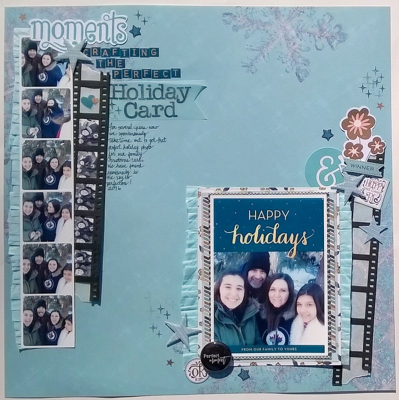 Moments Crafting the Perfect Holiday Card