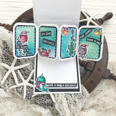 Double Interactive Card - Light Up & Pop Up