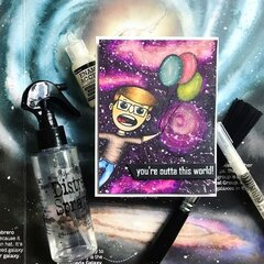 You're Outta This World Card featuring Simon Hurley create.