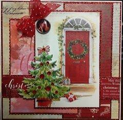 Christmas Card, 5x5