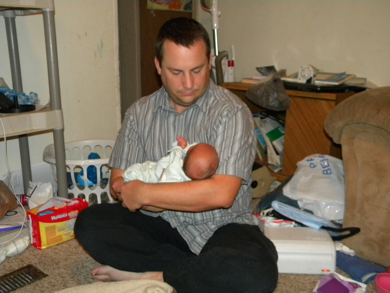 Baby Darin and Daddy