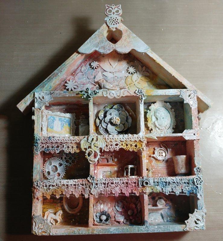 Mixed Media Box Miniatures