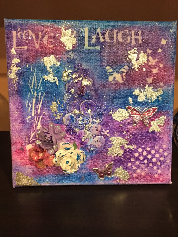 Love Laugh Canvas