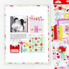 LOVE Layout | Doodlebug Design