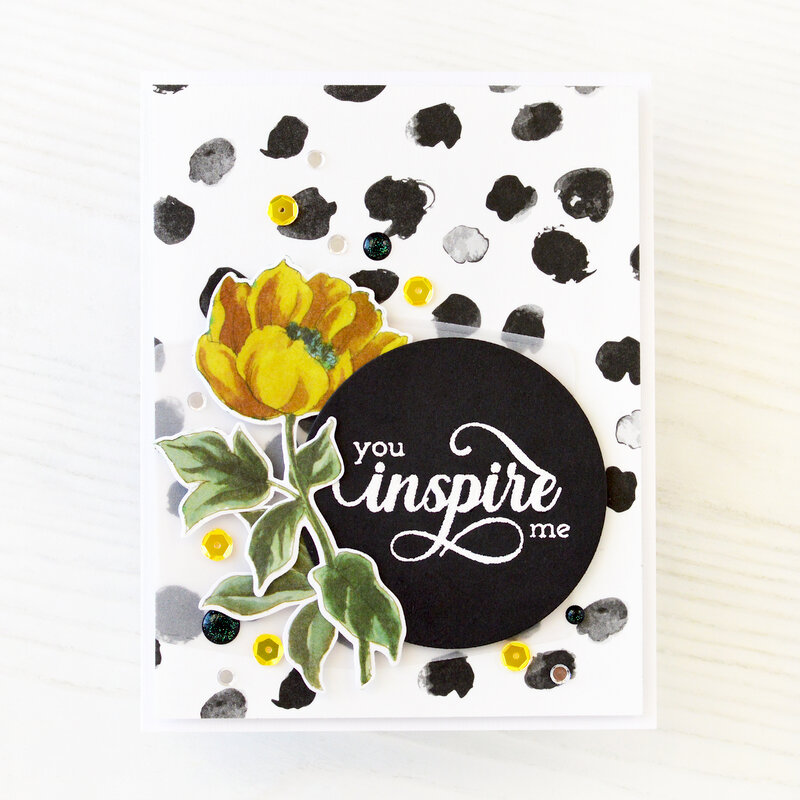 You Inspire Me Card | ALTENEW