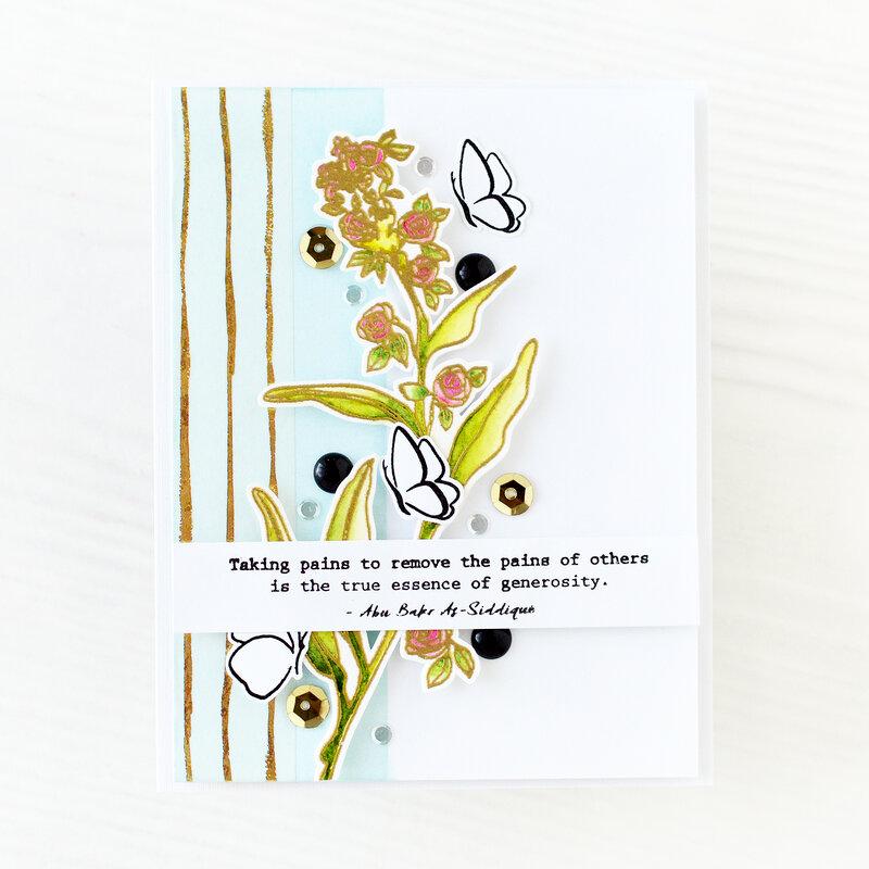 Floral Scene Card | ALTENEW