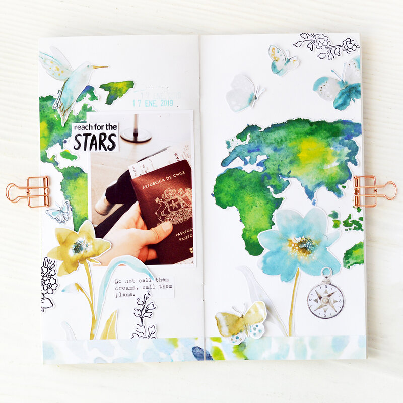 Reach for the stars Traveler's Notebook | Altenew