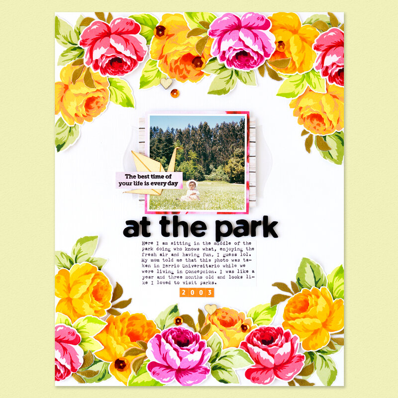 At the park Layout | Altenew