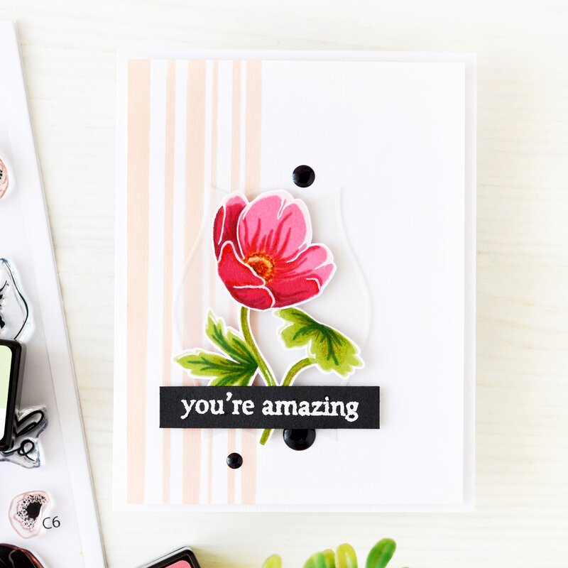 You Are Amazing Card | Altenew