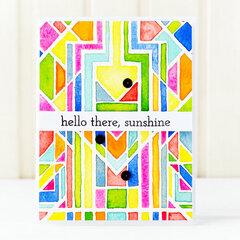 Hello there, sunshine Card | Altenew