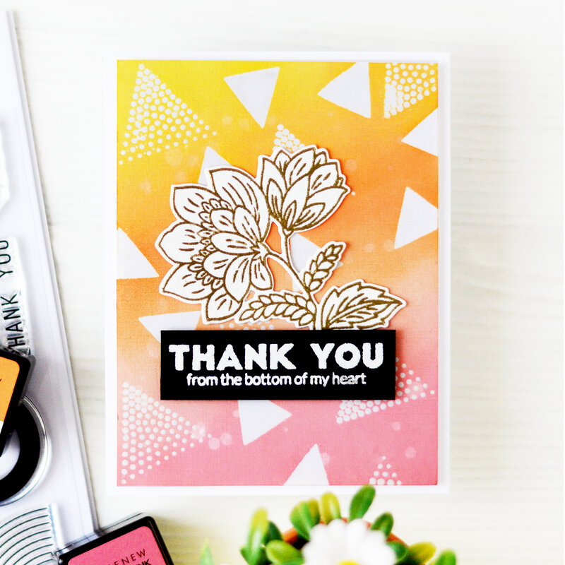 Thank you Card | Altenew