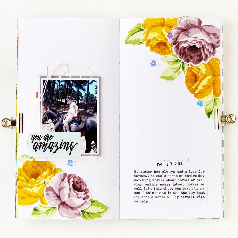 You're Amazing Traveler's Notebook | Altenew
