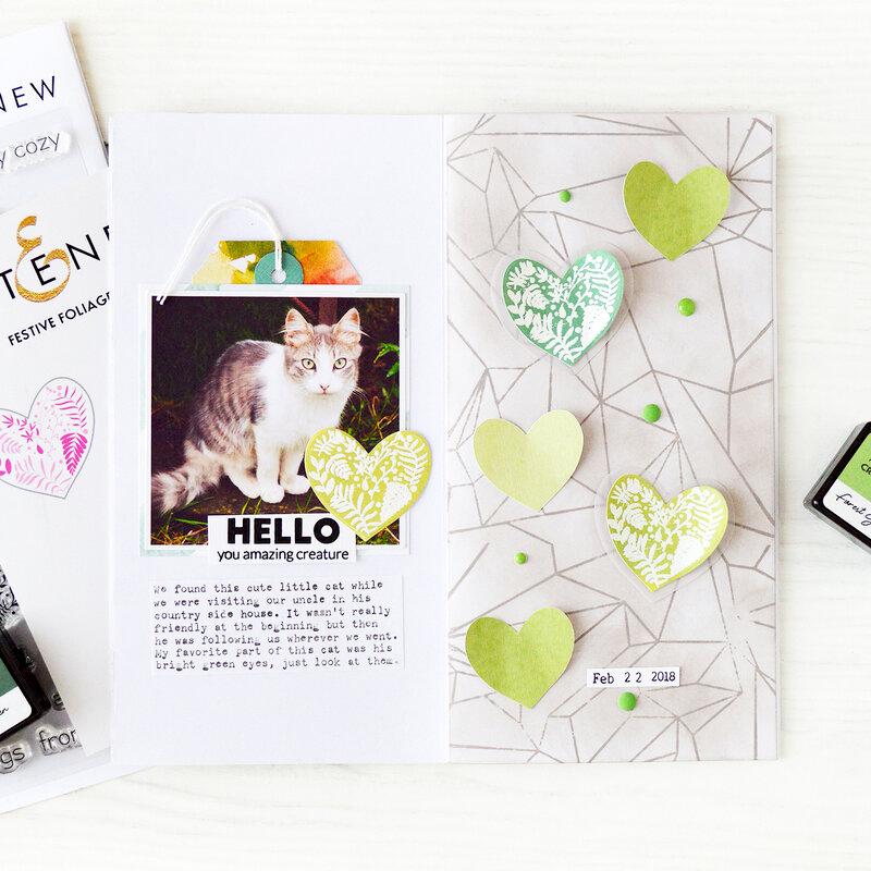 Hello you amazing creature - Traveler's Notebook| Altenew