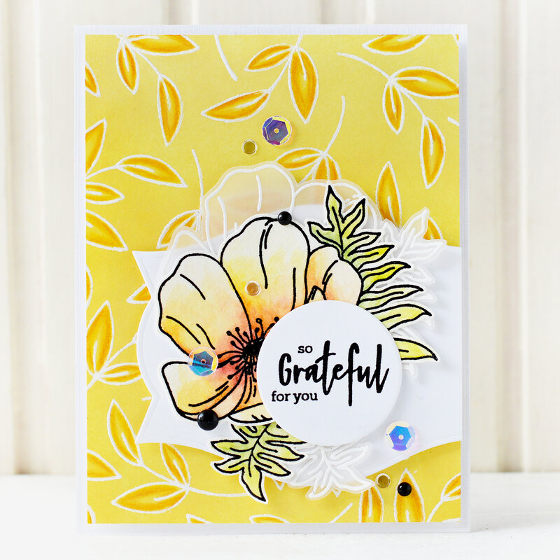 Grateful Card | Altenew