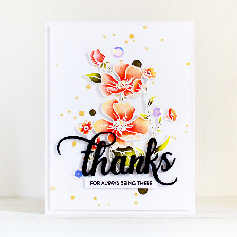 Thanks Card | Altenew