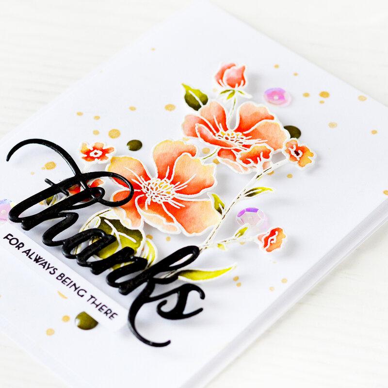 Thanks Card | Altenew