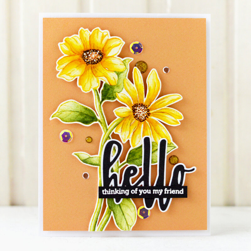 Hello Card | Altenew