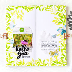 Hello You Traveler's Notebook | Altenew
