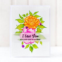 I love you Card | Altenew