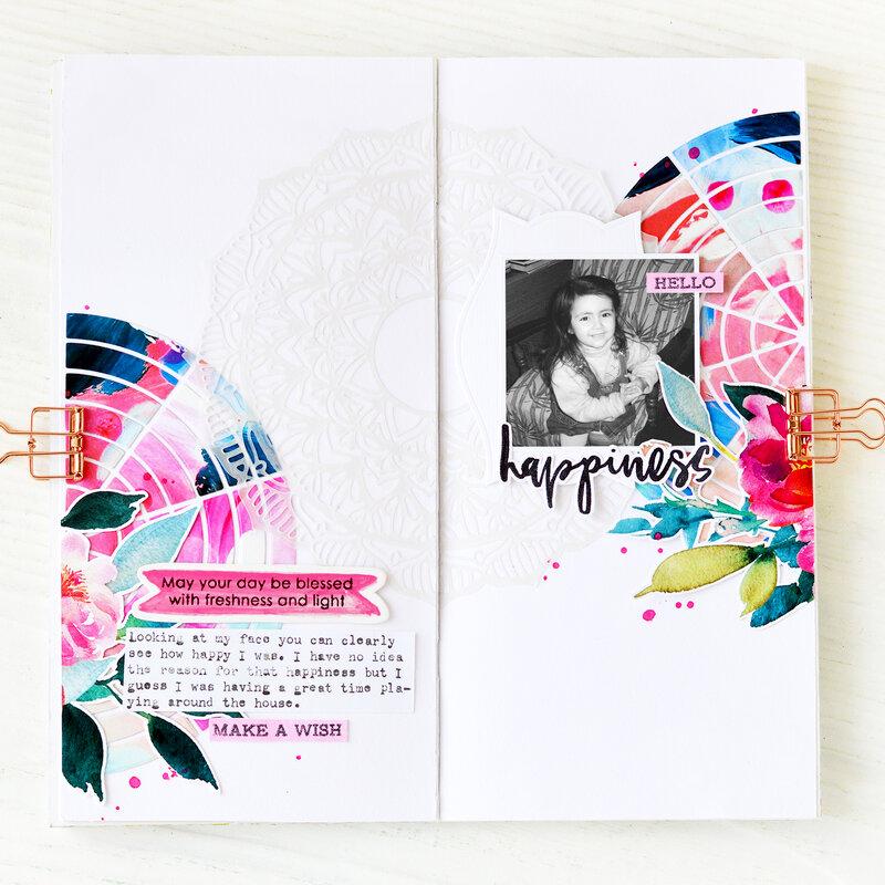 Happiness Traveler's Notebook | Altenew