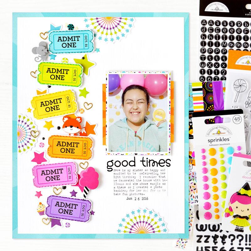 Good Times Layout | Doodlebug Design