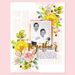 Together, Always and Forever Layout | Altenew