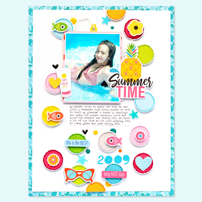 Summer Time - Layout | Bella BLVD