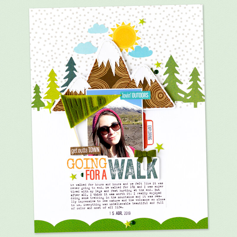 Going for a Walk Layout | Bella BLVD