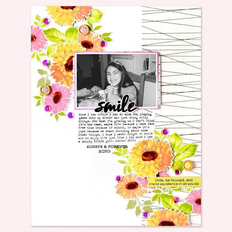Smile Layout | Altenew