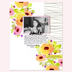 Smile Layout | Altenew