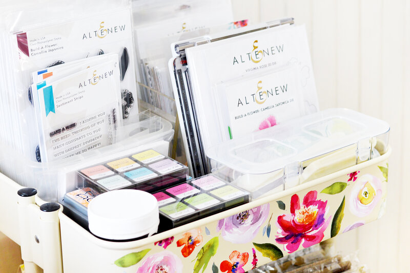 Maryam Perez Scraproom using Altenew Decals