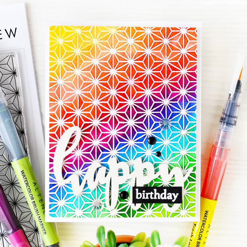 Happy Birthday Card | Altenew