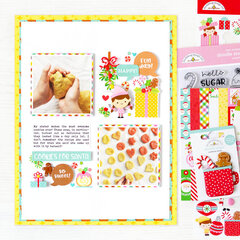 Cookies for Santa Layout | Doodlebug