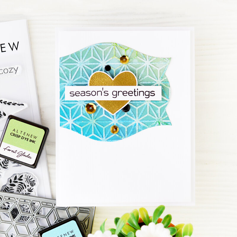 Season's greetings Card | Altenew