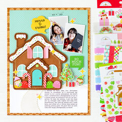 Merry & Bright Layout | Doodlebug Design