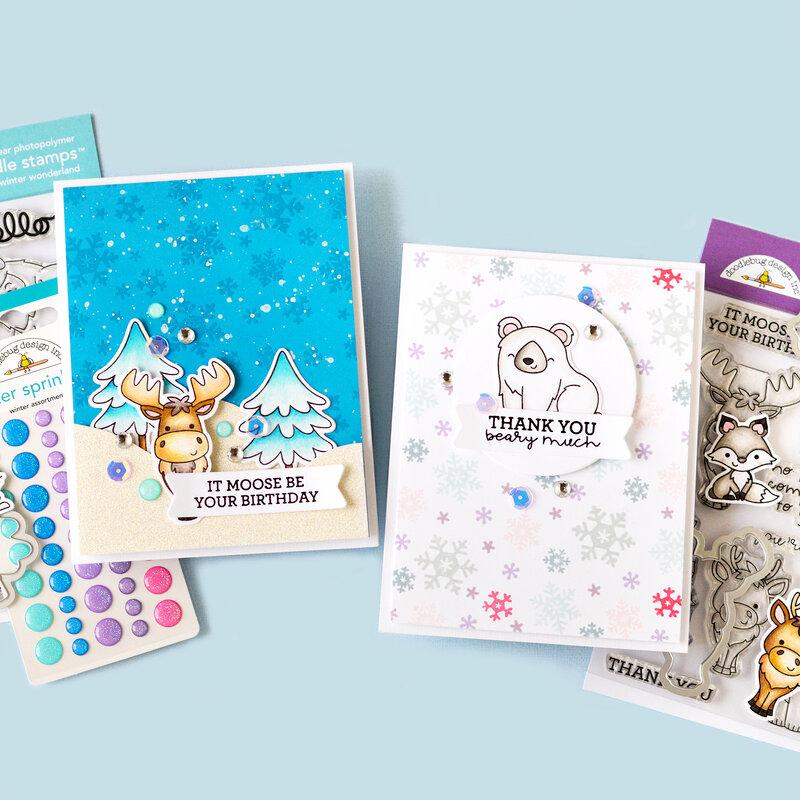 Winter Wonderland Cards | Doodlebug Design