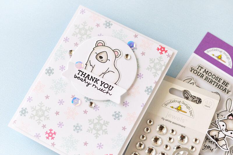 Winter Wonderland Cards   Doodlebug Design