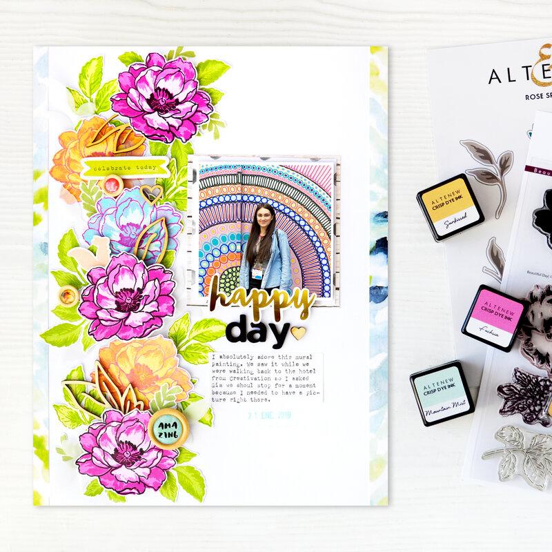 Happy Day Layout | Altenew