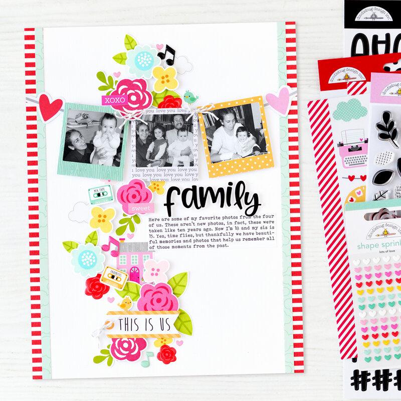 Family Layout | Doodlebug Design