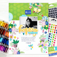 Happy, perfect and amazing Layout | Jillibean Soup