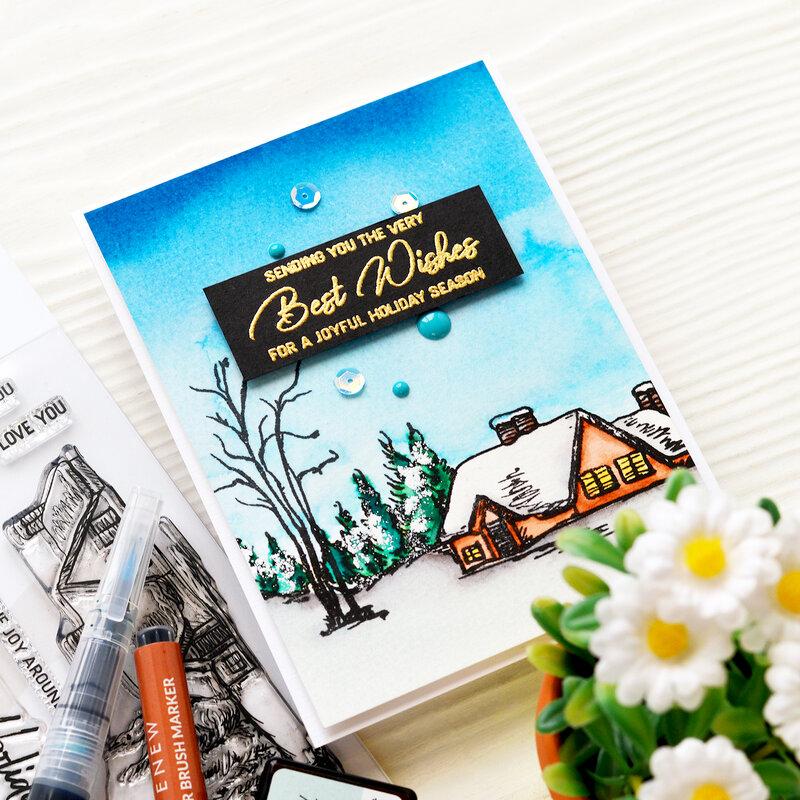 Best Wishes Card | Altenew